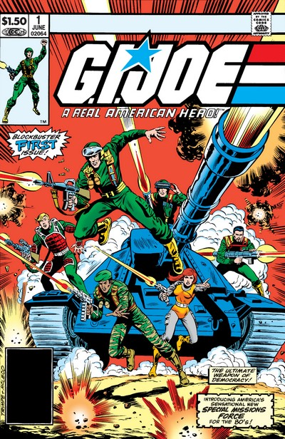 G.I. Joe – A Real American Hero #1 – 155 (1982-1994)