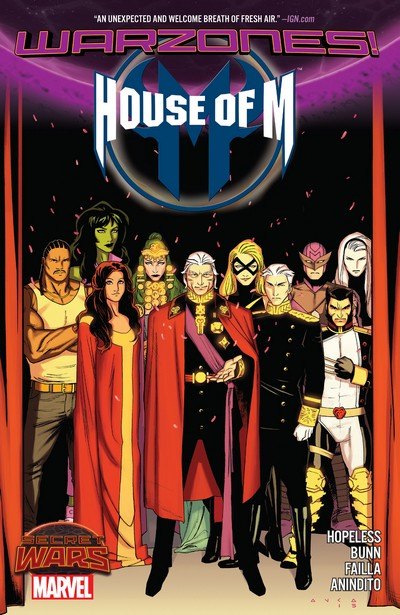 House of M – Warzones! (TPB) (2016)