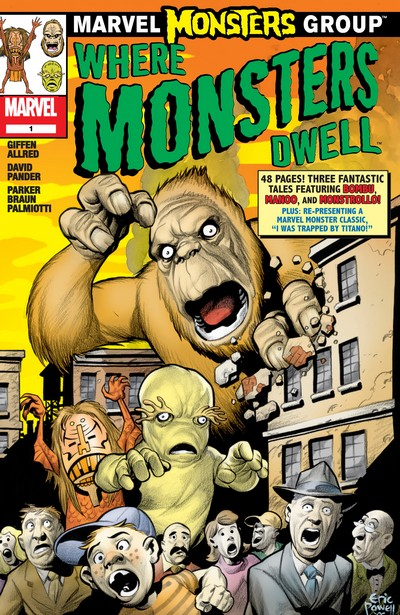 Marvel Monsters – Where Monsters Dwell (2005)