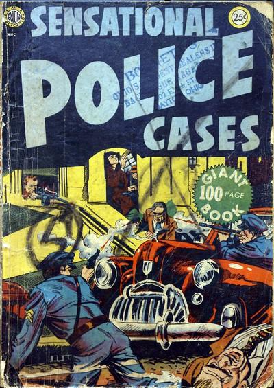 Sensational Police Cases #1 – 5 (1952-1963)