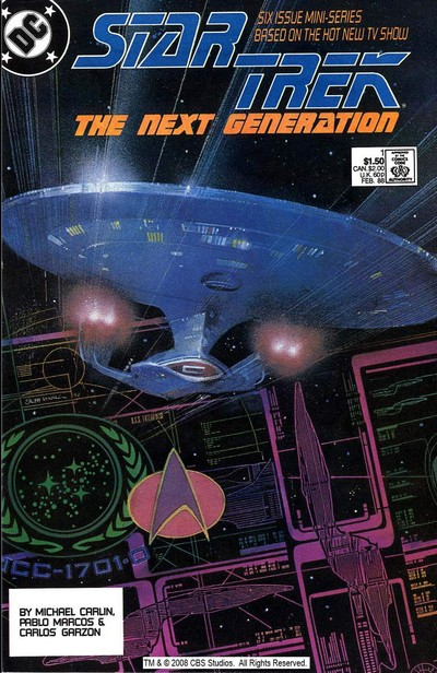 Star Trek – The Next Generation #1 – 6 (1988)