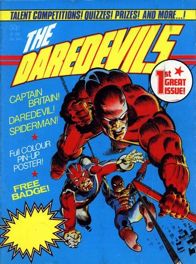 The Daredevils #1 – 11 (1983) (Marvel UK)