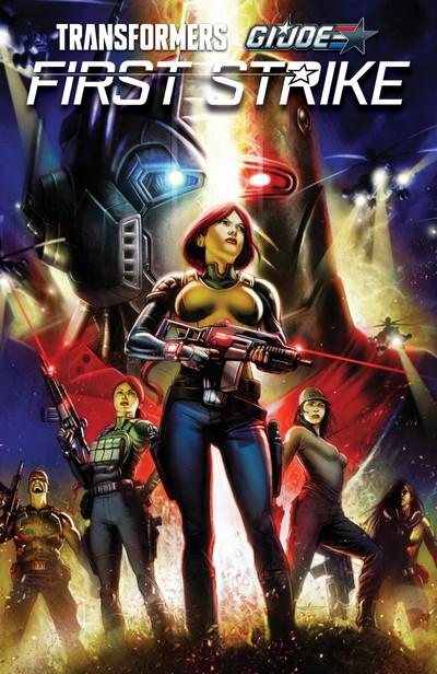 Transformers – G.I. Joe – First Strike (TPB) (2018)