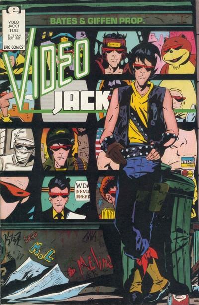 Video Jack #1 – 6 (1987-1988)