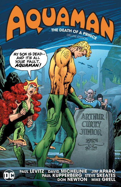 Aquaman – The Death of a Prince Deluxe Edition (2020)