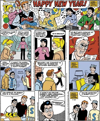 Archies Comic Strips (2004-2015)