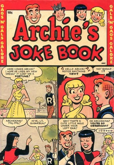 Archie's Joke Book Magazine #1 – 3 + 15 – 288 (1953-1982)