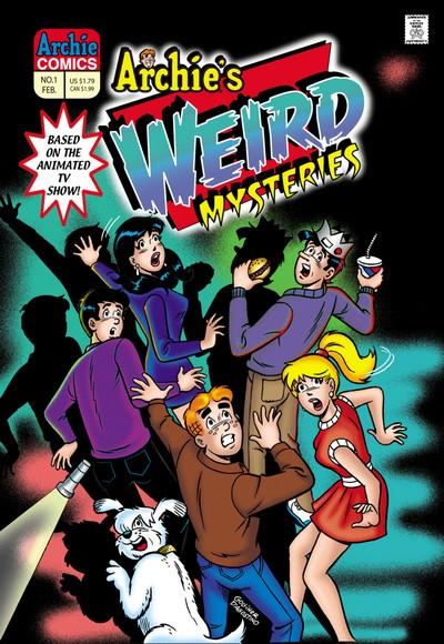 Archie's Weird Mysteries #1 – 34 + TPB (2000-2004+2011)
