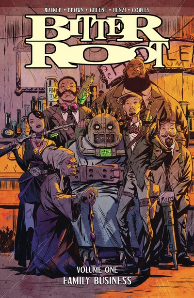 Bitter Root Vol. 1 – Family Business (TPB) (2019)