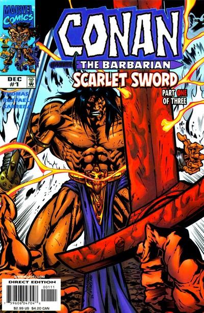 Conan – Scarlet Sword #1 – 3 (1998-1999)