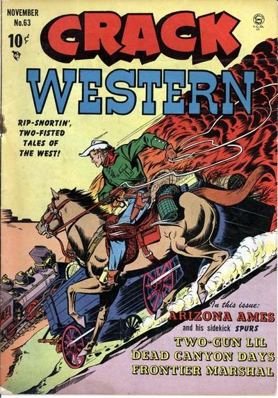 Crack Western #63 – 84 (1949-1953)