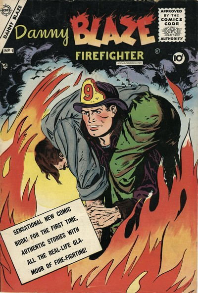 Danny Blaze #1 – 2 (1955)