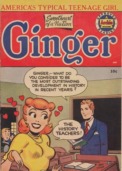 Ginger #1 – 10 (1951-1954)