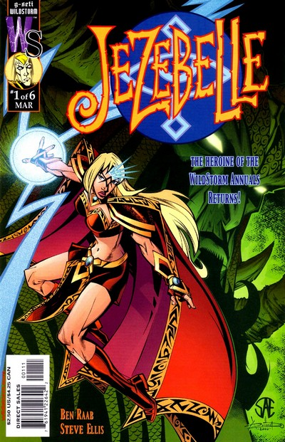Jezebelle #1 – 6 (2001)