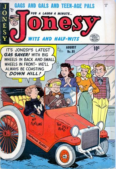 Jonesy #1 – 8 (1953-1954)