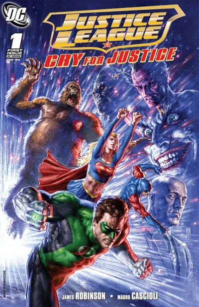 Justice League – Cry For Justice #1 – 7 (2009-2010)