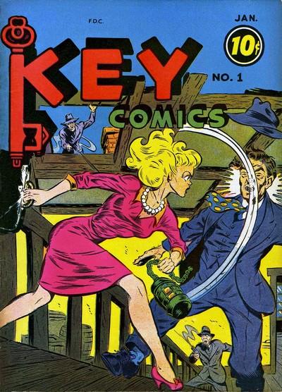 Key Comics #1 – 5 (1944-1946)