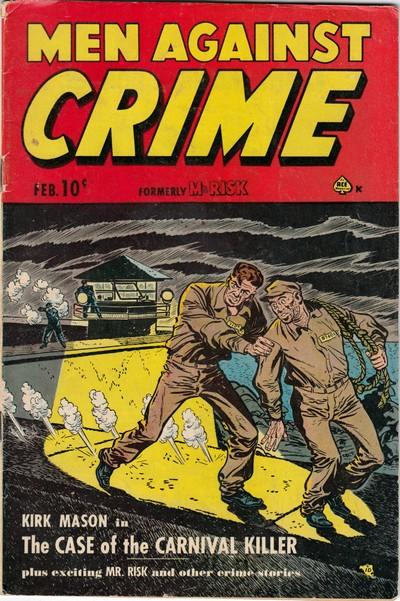 Men Against Crime #3 – 7 (1951)