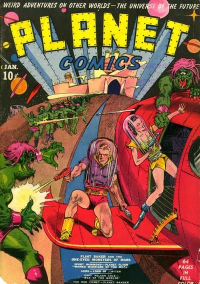 Planet Comics #1 – 73 (1940-1953)
