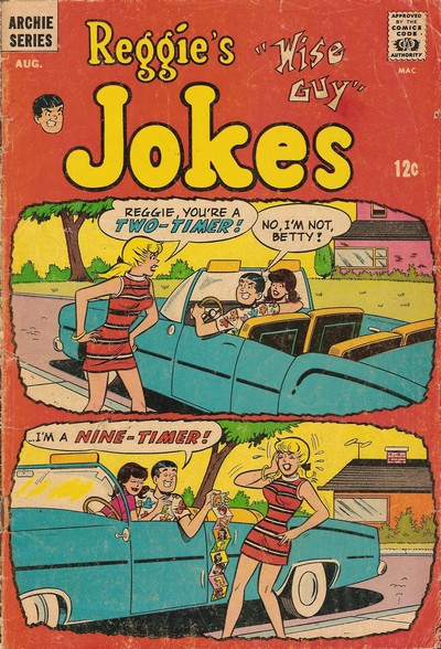 Reggie's Wise Guy Jokes #1 – 55 (1968-1980)