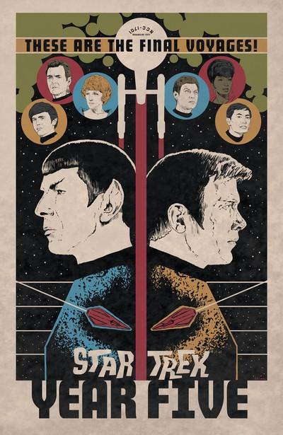Star Trek – Year Five – Odyssey's End Book 1 (2020)