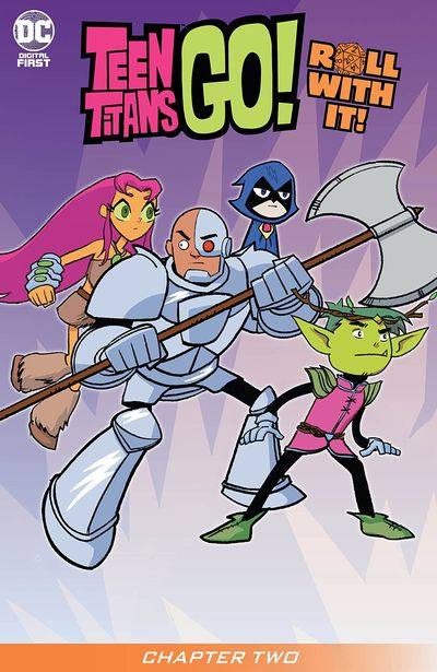 Teen Titans Go! Roll With It! #2 (2020)