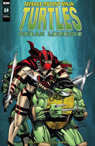 Teenage Mutant Ninja Turtles – Urban Legends #24 (2020)