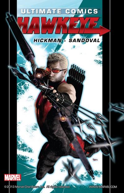 Ultimate Comics Hawkeye by Jonathan Hickman (2012)