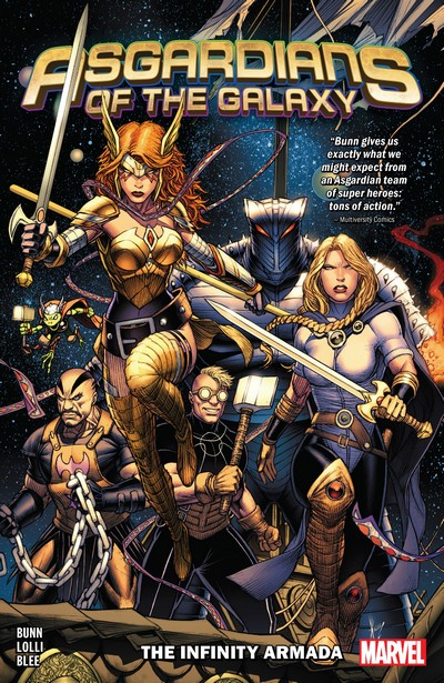 Asgardians of the Galaxy Vol. 1 – The Infinity Armada (TPB) (2019)