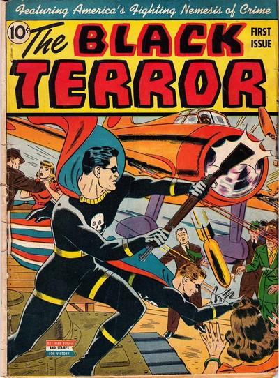 Black Terror #1 – 27 (1942-1949)