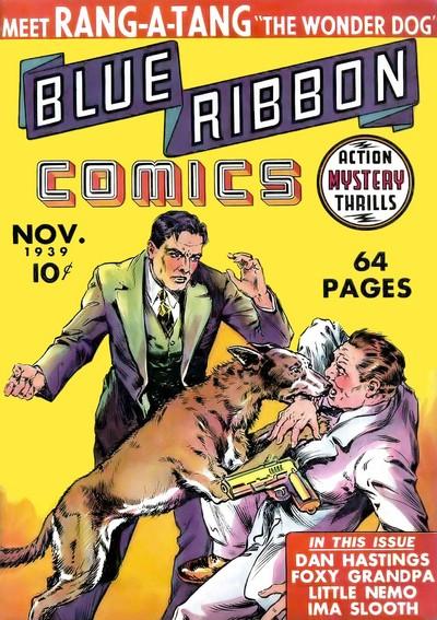 Blue Ribbon Comics #1 – 22 (1939-1942)