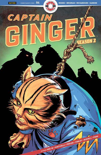 Captain Ginger Season 2 #4 (2020)