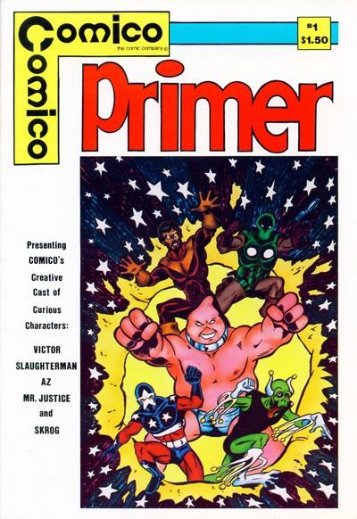 Comico Primer #1 – 6 (1982-1984)