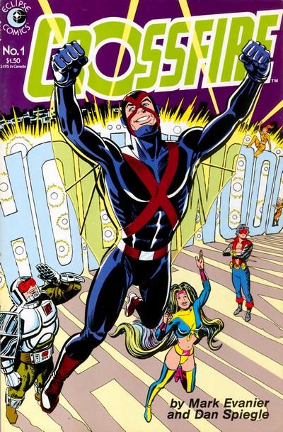 Crossfire #1 – 26 (1984-1988)