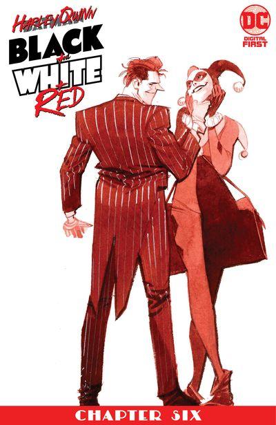 Harley Quinn Black + White + Red #6 (2020)