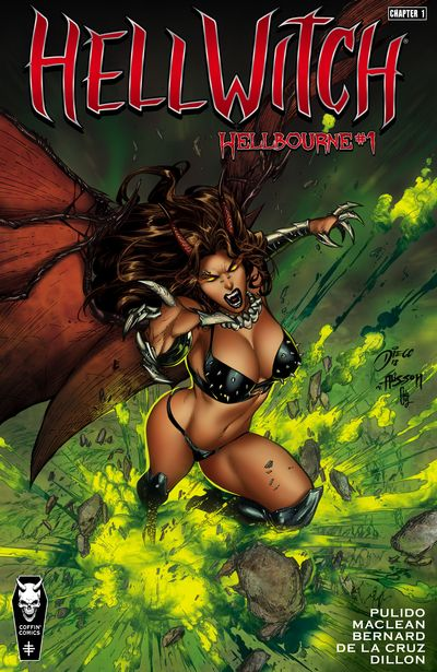 Hellwitch Chapter #1 – 2 (2019-2020) (ADULT)