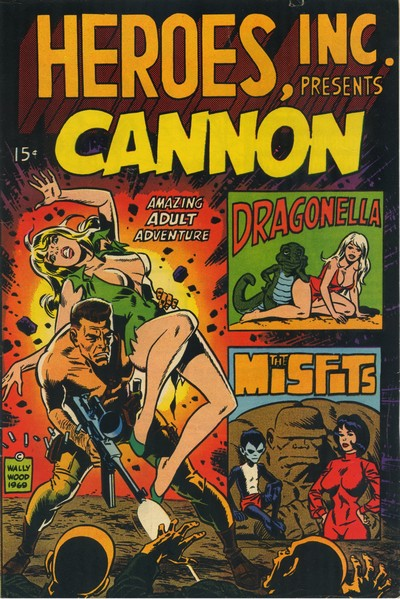 Heroes, Inc. Presents Cannon #1 – 2 (1969-1976)
