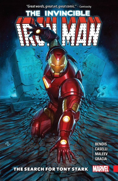 Invincible Iron Man – The Search For Tony Stark (TPB) (2018)