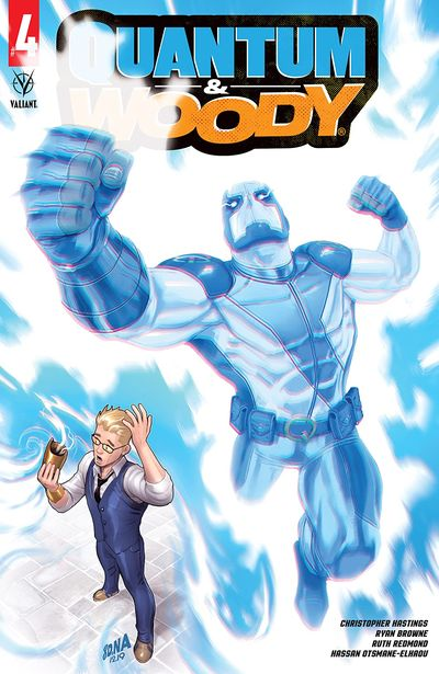 Quantum and Woody #4 (2020)