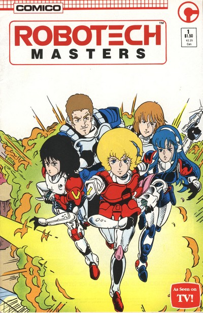 Robotech – Masters #1 – 23 (1985-1988)