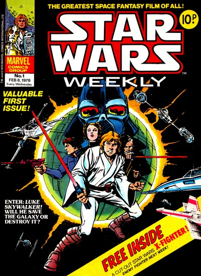 Star Wars Weekly (Collection) #1 – 171 (1978-1983) (Marvel UK)