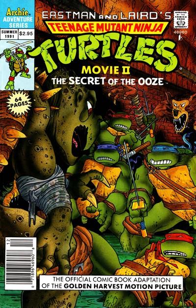 Teenage Mutant Ninja Turtles Adventures Special #1 – 11 (1991-1994)