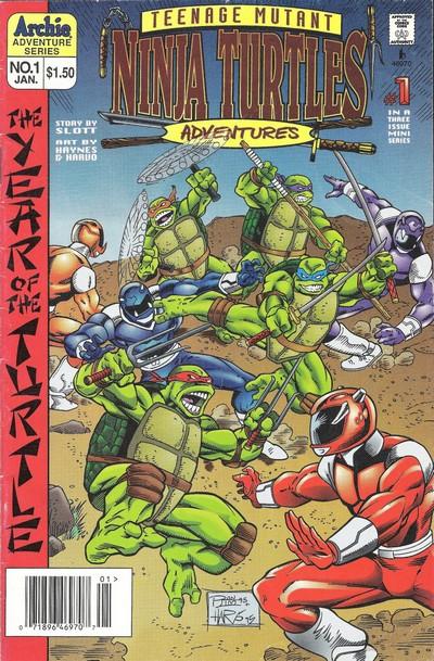 Teenage Mutant Ninja Turtles Adventures – Year Of the Turtle #1 – 3 (1996)