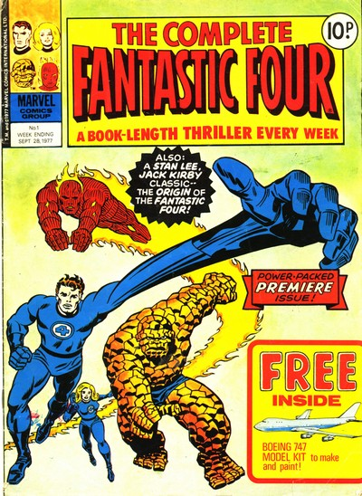 The Complete Fantastic Four #1 – 37 (1977-1978) (Marvel UK)