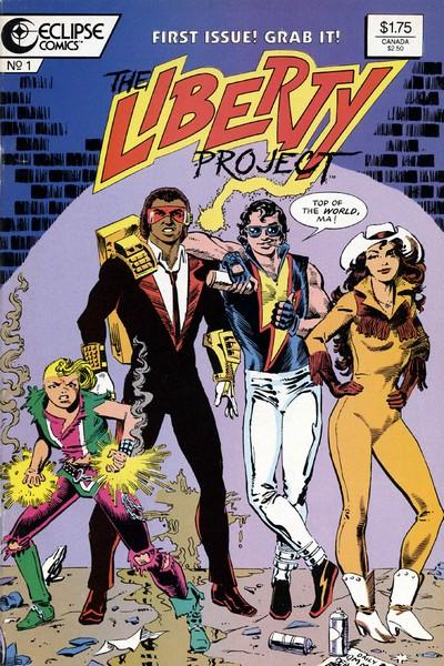 The Liberty Project #1 – 8 (1987-1988)