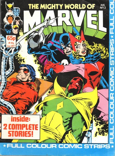 The Mighty World of Marvel Vol. 2 #1 – 17 + Special (1983-1984) (Marvel UK)