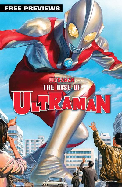 The Rise of Ultraman – Sneak Preview #1 (2020)