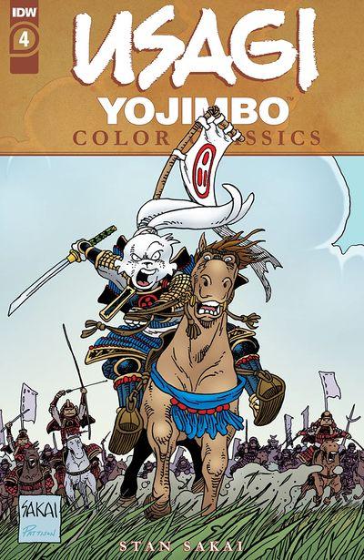 Usagi Yojimbo Color Classics #4 (2020)