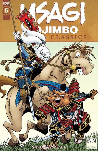 Usagi Yojimbo Color Classics #5 (2020)