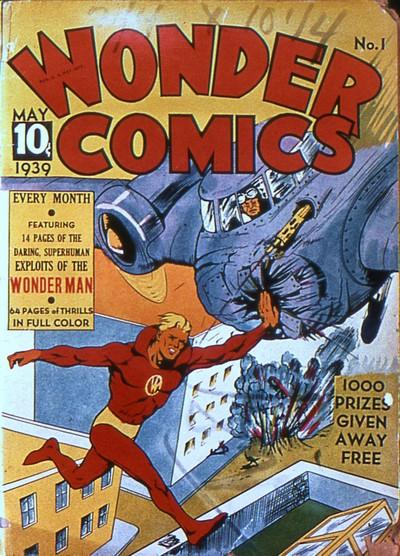 Wonder Comics + Wonderworld Comics #1 – 33 (1939-1942)